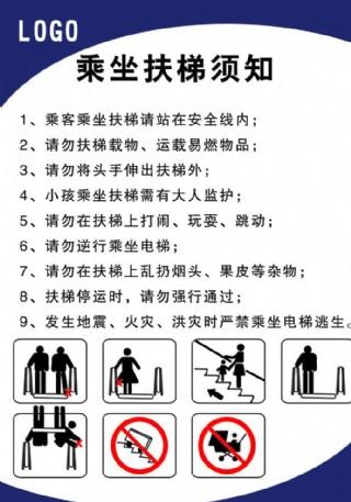 乘坐電梯須知圖片