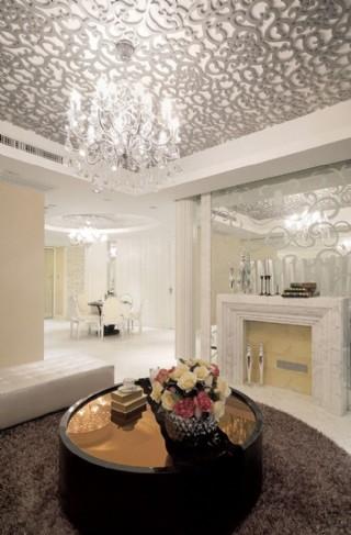 古典樣板房 客廳圖片