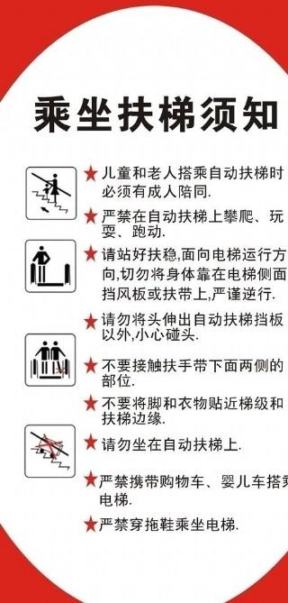 乘電梯須知圖片