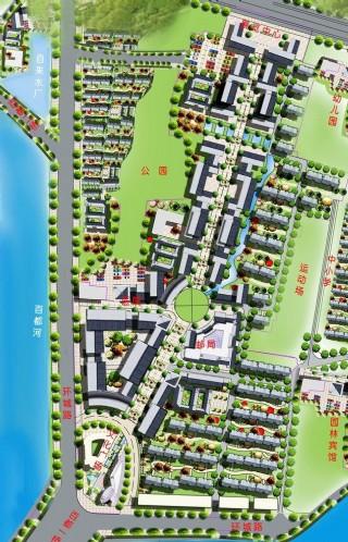 城区园林景观示意图图片